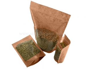 Clear/Brown Paper Bags