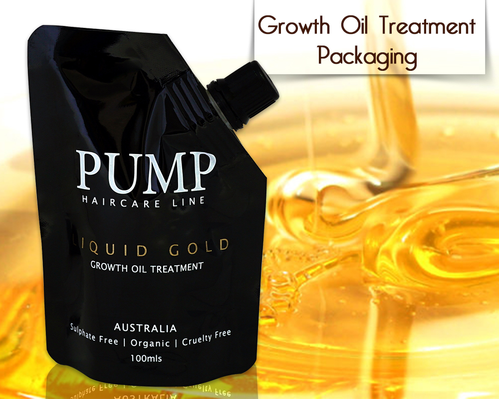 Growth Oil Treatment Packaging